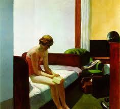 Edward Hopper, Hotel Room, 1931.