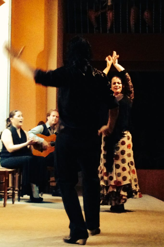 Saben mucho! A cultural enlightening Flamenco show at Casa de la Memoria in Seville.