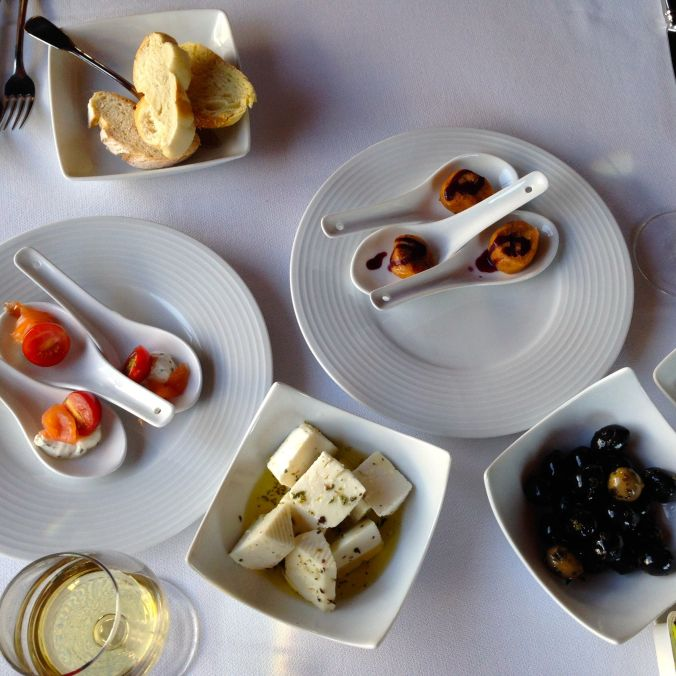 A great appetizer spread at Taylor's.
