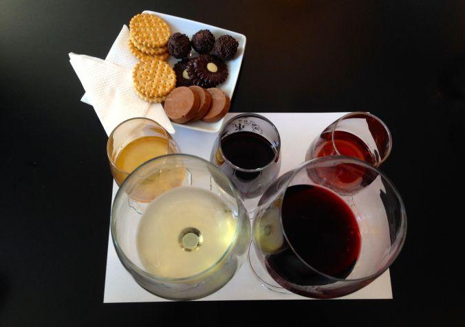 Wine, port wine, and chocolate pairing at Kopke.